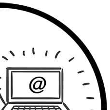 Logo - Der WEB-Krüb(l)er - Viertel 2