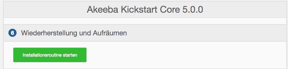 Akeeba Backup Schritt 2 - der WEB-Krüb(l)er - Martin Krüber