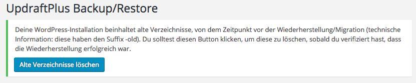 Alte Verzeichnisse entfernen - der WEB-Krüb(l)er - Martin Krüber