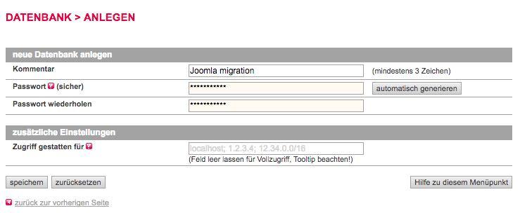 Datenbank anlegen Schritt 2 - der WEB-Krüb(l)er - Martin Krüber