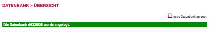 Datenbank anlegen Schritt 3 - der WEB-Krüb(l)er - Martin Krüber