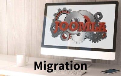 Migration einer Joomla Webseite