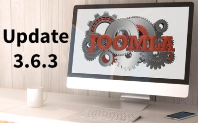 Joomla! 3.6.3 Bug Fix Release
