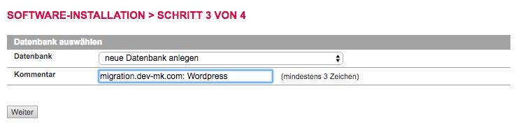 Software Installieren - Datenbank anlegen - All-Inkl - der WEB-Krüb(l)er - Martin Krüber