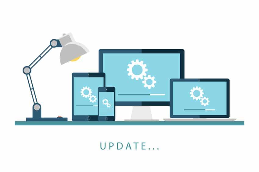 Update Webseite - der WEB-Krüb(l)er