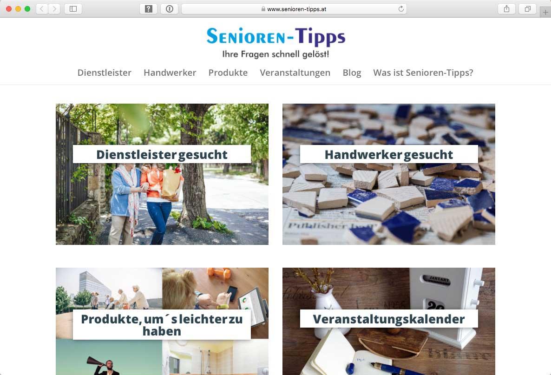 Referenz Webseite - Senioren-Tipps