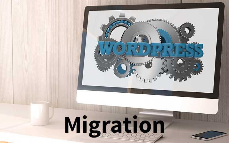 Migration einer WordPress Webseite