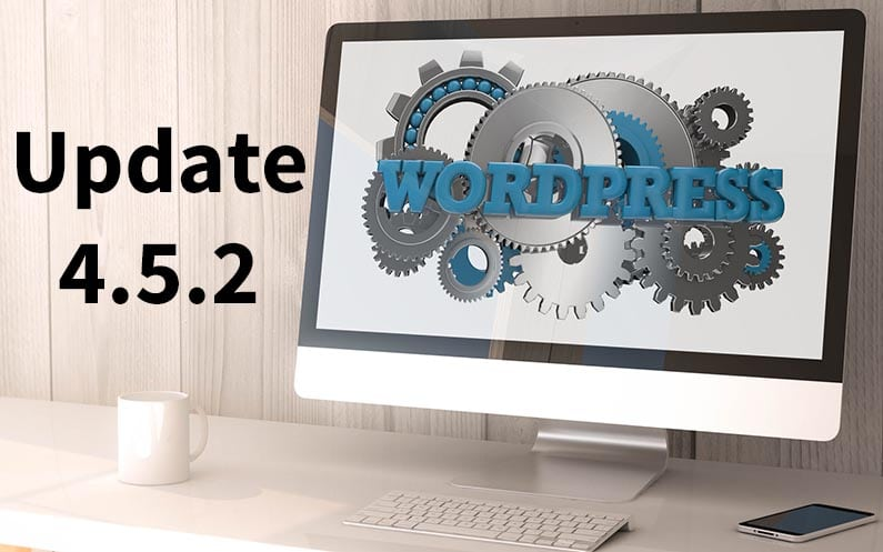 WordPress 4.5.2 – Sicherheits-Release