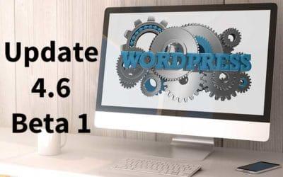 WordPress 4.6 Beta 1