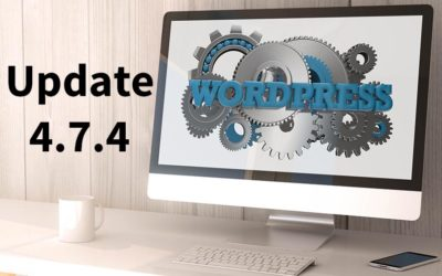 WordPress 4.7.4 Wartungs-Release